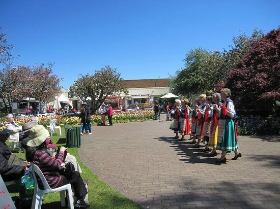 Southern Highlands: Folk dancers