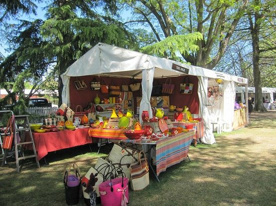 Southern Highlands: One of the market stalls in the gardens