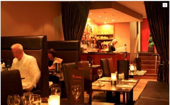 Saffron: Restaurant Interior