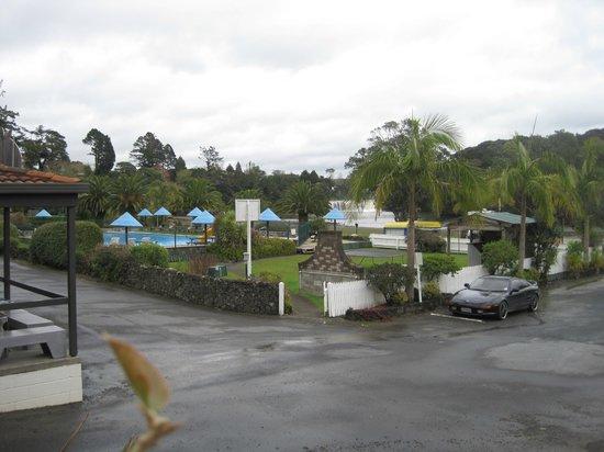 Haruru Falls Resort: Falls