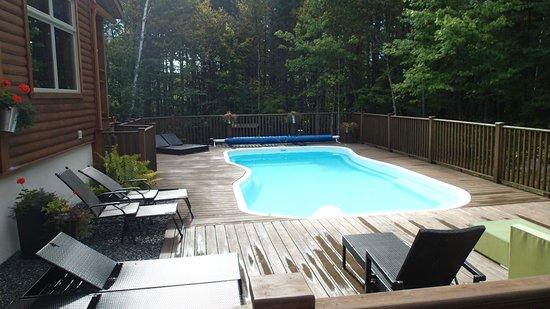 Gite l'Escale du Nord: piscine