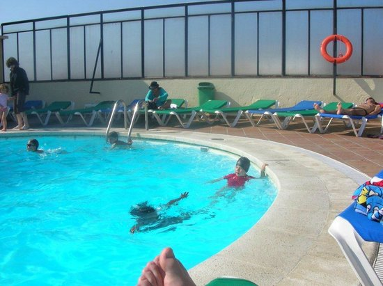 Santa Rosa: piscine chauffée en plein air au dernier étage
