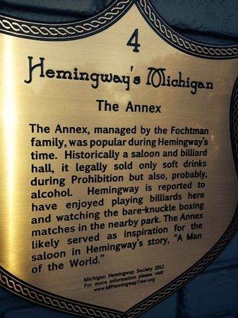City Park Grill: Hemingway's Michigan
