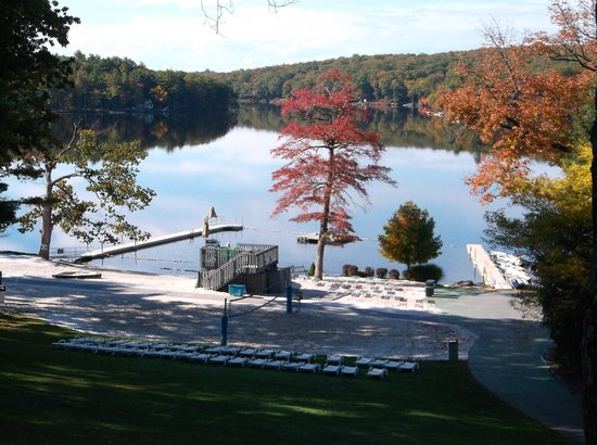 Woodloch Pines Resort: From our Balcony