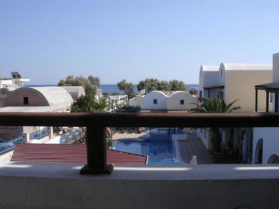Hotel Eleftheria : View from balcony