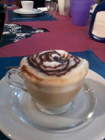 Corte Malaspina : petit déjeuner préparer par Sandro