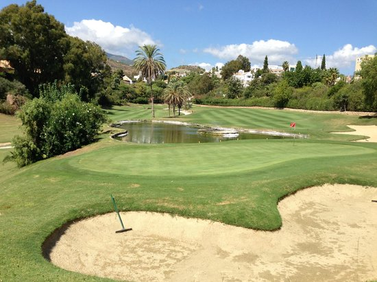 The Westin La Quinta Golf Resort & Spa : 9th hole of the B course