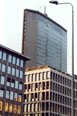 Grattacielo Pirelli : VISTA DA VIA VITTOR PISANI.