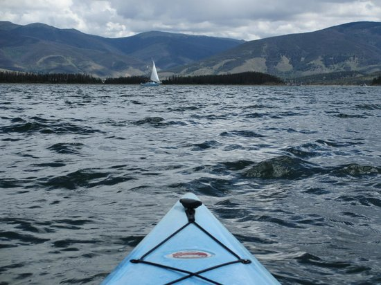 Adventure Paddle Tours : 8/13/13 - some waves and wind, but fun
