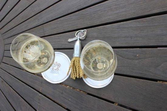 Chateau de Noizay: champagne