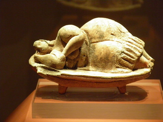"National Museum of Archaeology: ""Sleeping Lady"", Archeological museum of Valletta, Malta"