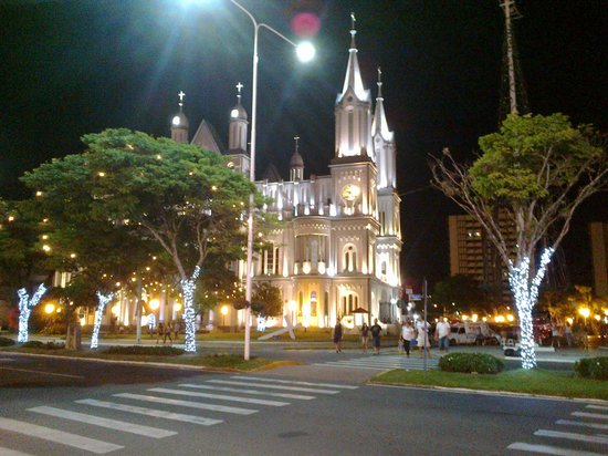 Itajai, SC: Vista à noite