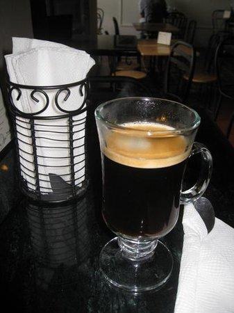 Metiz Bistro Frances : a nice coffee