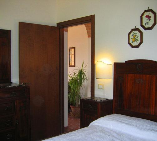 Ferienhaus In Toscana : Schlafzimmer FeWo Francecsa