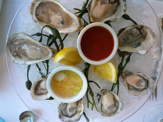 The Sea Grill: The perfect Oysters