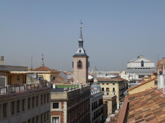 Petit Palace Puerta Del Sol: View from the room balcony