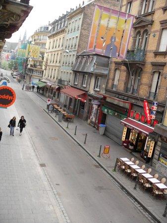 Ibis Styles Strasbourg Centre Gare: Vista da janela do quarto