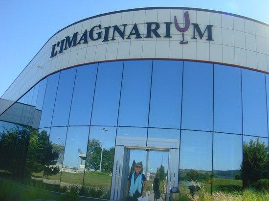L'Imaginarium : Fachada da atração
