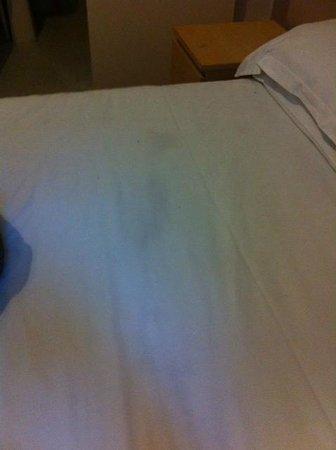 New Cosmopolitan Brighton: Grubby bed