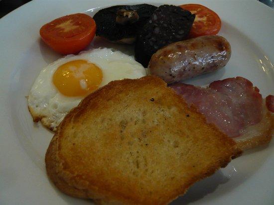 Noel Arms Hotel: breakfast