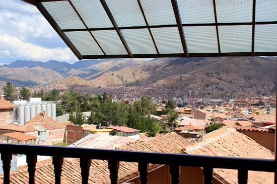 Casa Andina Premium Cusco: View from the Casa Andina Hotel, Cusco, Lima