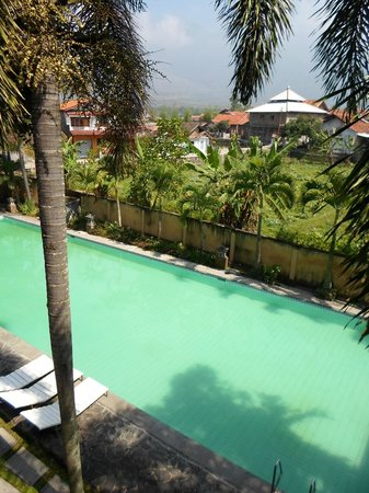 Augusta Hotel: pool view from room