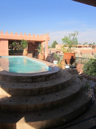 Riad Catalina : The rooftop pool