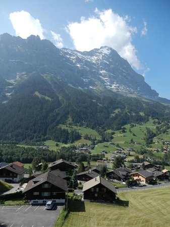 Bel Air Eden : Awesome view of Eiger