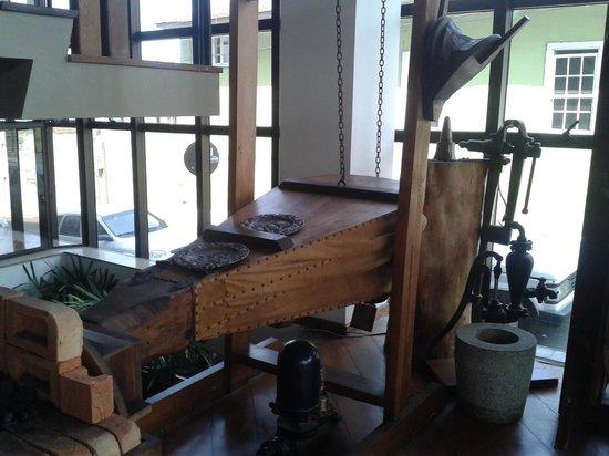 Buganville Palace Hotel: amostras de coisas antigas no proprio hotel