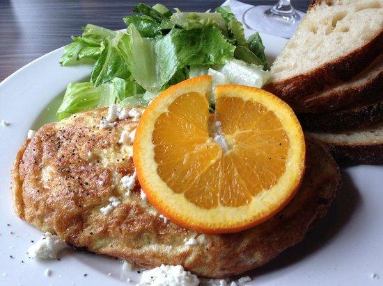 Devon's: Breakfast - a lobster omelet