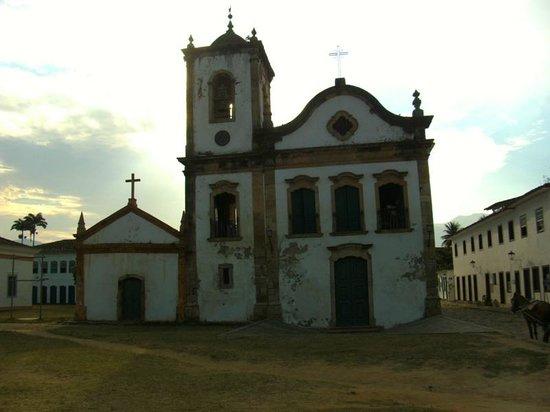 Igreja Nossa Senhora das Dores ( Capelinha) : Fachada da Capela