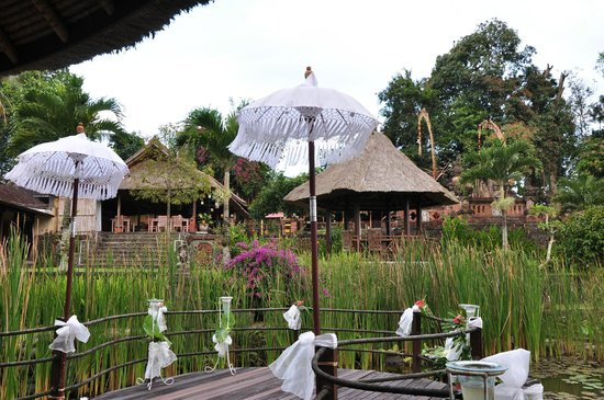 Puri Taman Sari: le restaurant