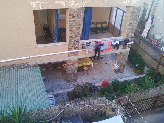 Residence Teclini : Вид из номера