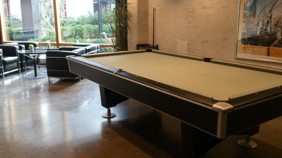 Clarion Collection Hotel Planetstaden: pool table