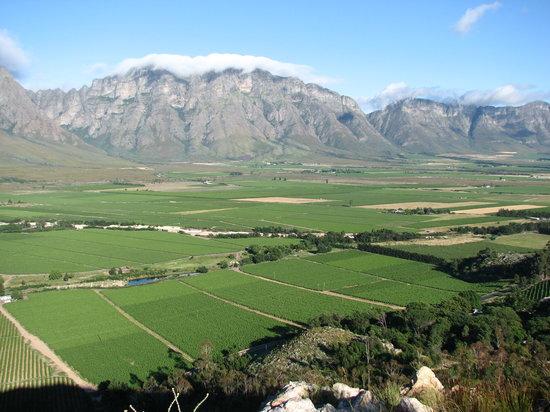 Slanghoek Mountain Resort: The valley