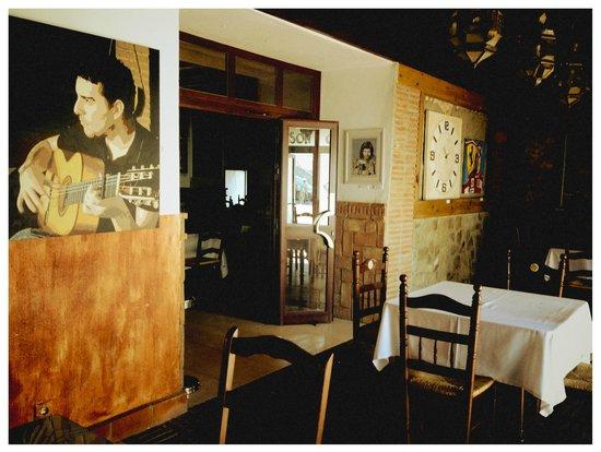 Territorio Flamenco: The owner plays Flamenco guitar.