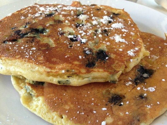 Cafe Heaven: Blueberry Pancakes