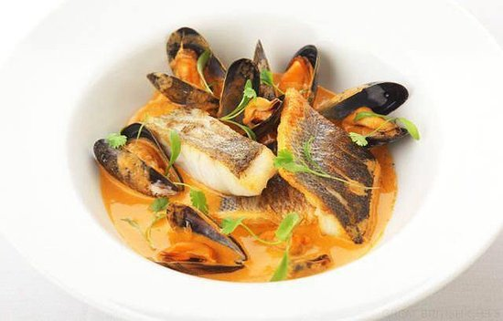 The George at Baldock: Fish stew from our specials