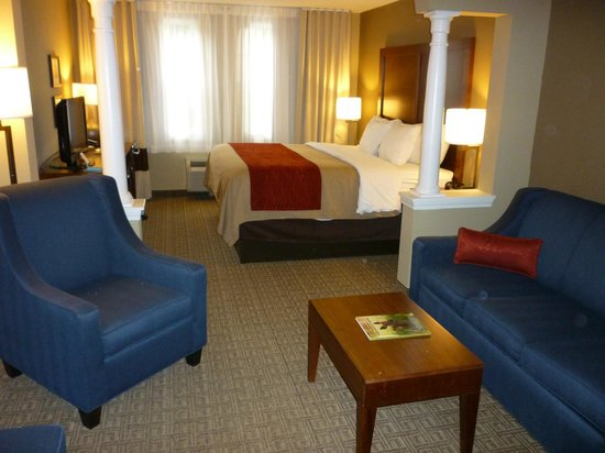 Comfort Inn & Suites North Conway: Spacious and luxurious