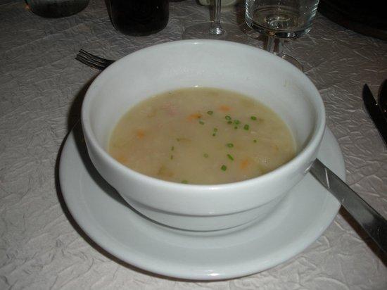 Agriturismo Ciablun: minestra d'orzo