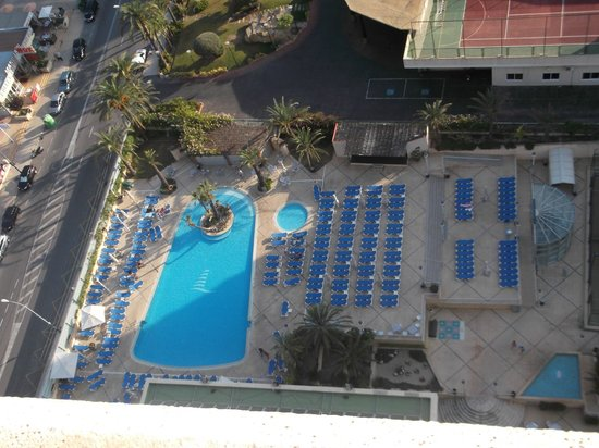Hotel Levante Club & Spa: from the 17th floor