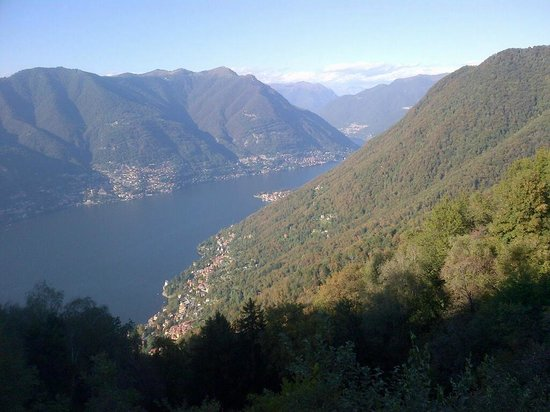 Hotel Paradiso Sul Lago: View from terrace