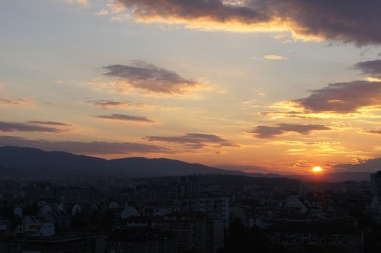 Ramada Sofia: Sunset