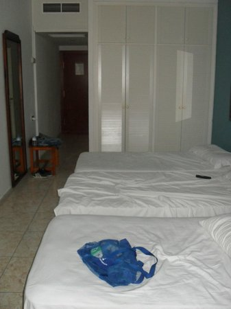 Checkin Concordia Playa: habitacion para tres personas