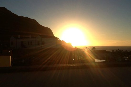 Melia Hacienda del Conde : Sunset in Tenerife