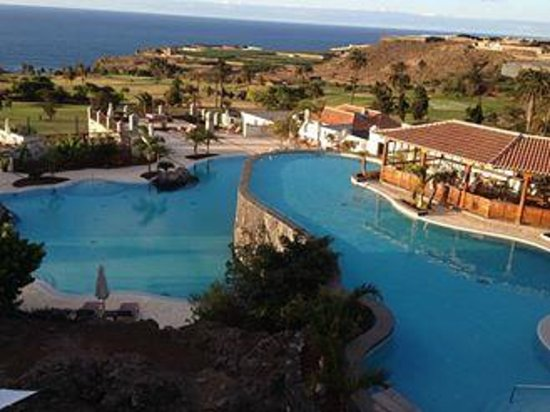Melia Hacienda del Conde : Pool view from 7th floor room