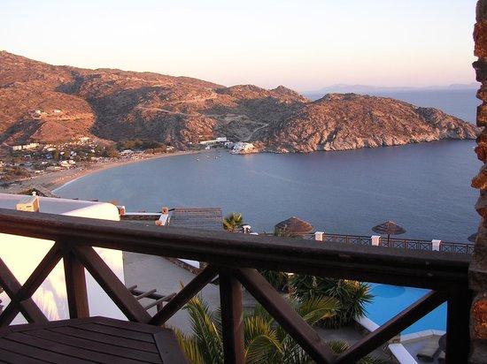 Hotel Katerina: View from balcony.