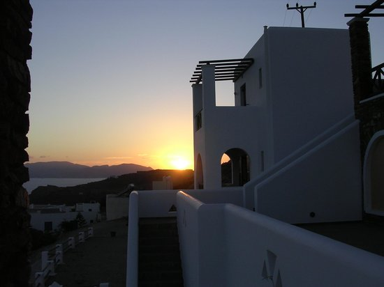 Hotel Katerina: Sunset.