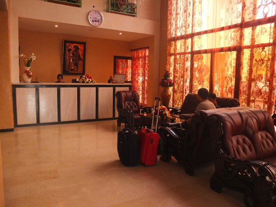 Hotel Al Kabir : Reception