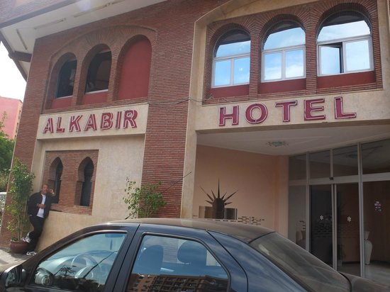 Hotel Al Kabir: Facade